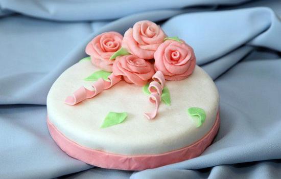 прикрашання тортів мастикою рецепти виробів